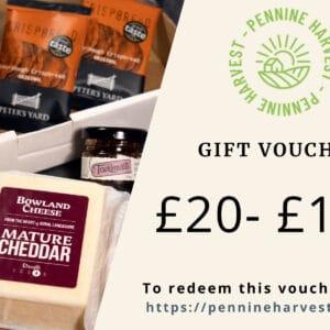 Pennine Harvest Gift Voucher