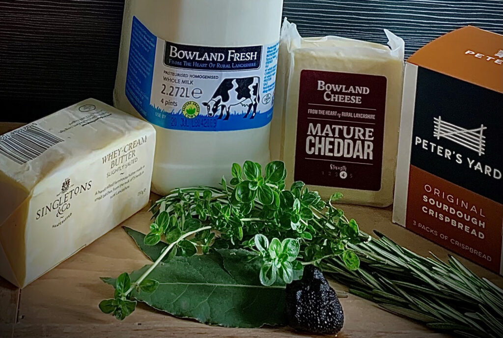 Truffle Mac and cheese Ingredients